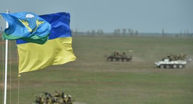 Large-scale paratroopers maneuver ended in Mykolaiv region. VIDEO