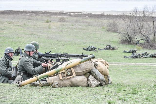 Historical reenactment of 1944 Odesa liberation battle took place in Ukraines southern region 06