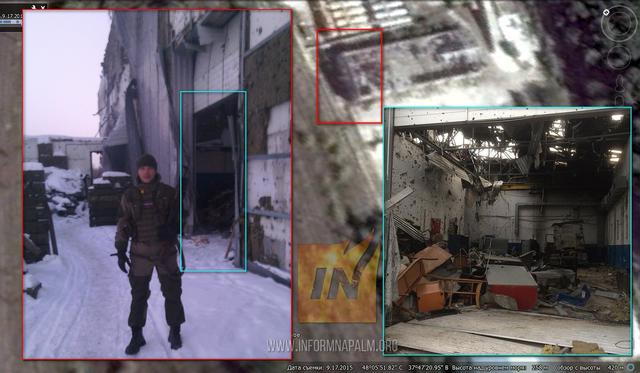 Russian war criminals, Putin's Federal Guards exposed around Avdiivka's industrial zone 02