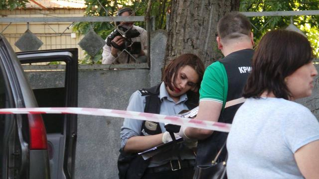 Attempted assassination on patriot volunteer fighters Adam Osmaev and Amina Okueva took place in Kyiv 04