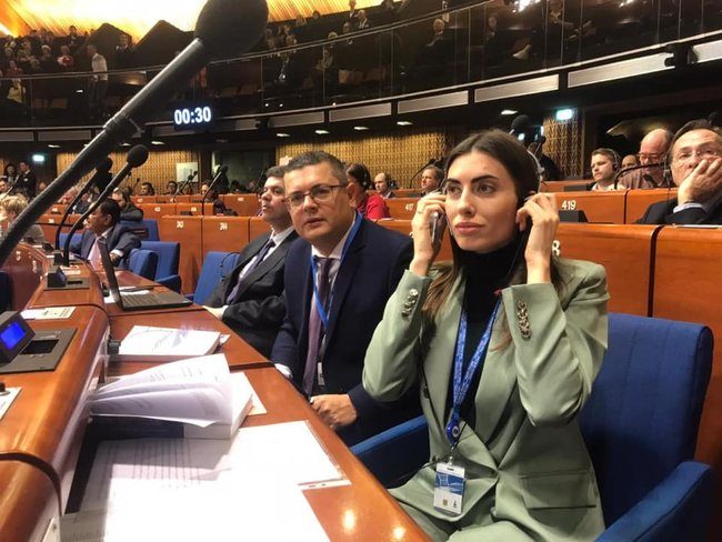Ukrainian MP elected as PACE Vice President 01