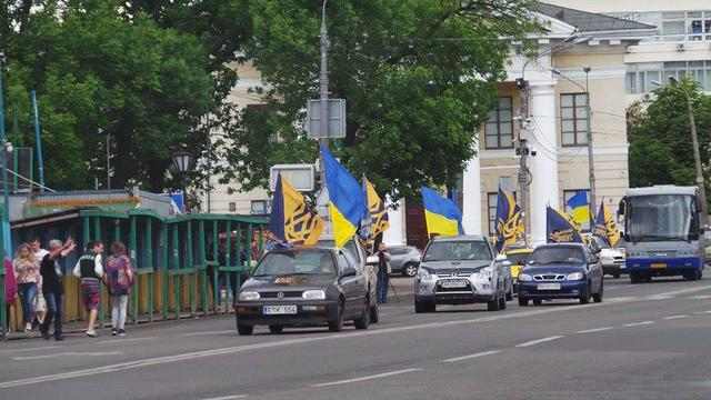 Poroshenko sign amnesty! car run started in Kyiv 16