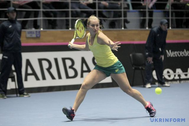 Ukrainian tennis team defeated Australia in Fed Cup 02