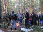 Police conducts operation against amber miners in Volyn forests: nearly thousand law enforcers involved, 17 people arrested. PHOTOS
