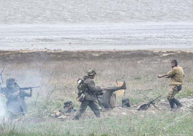 Historical reenactment of 1944 Odesa liberation battle took place in Ukraines southern region 08