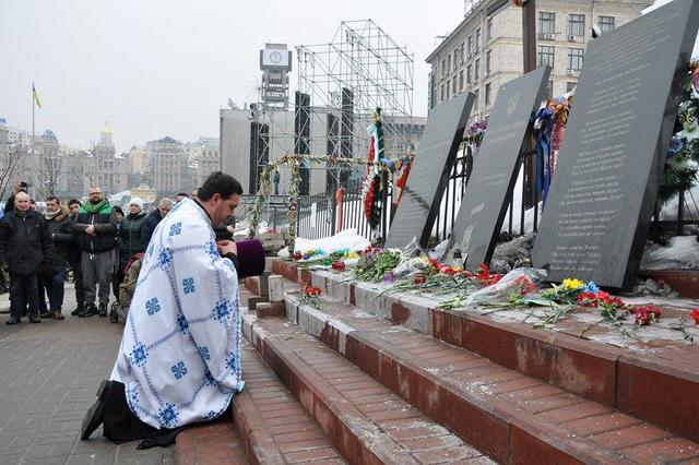 Memory of Heavenly Hundred Heroes honored in Kyiv 14