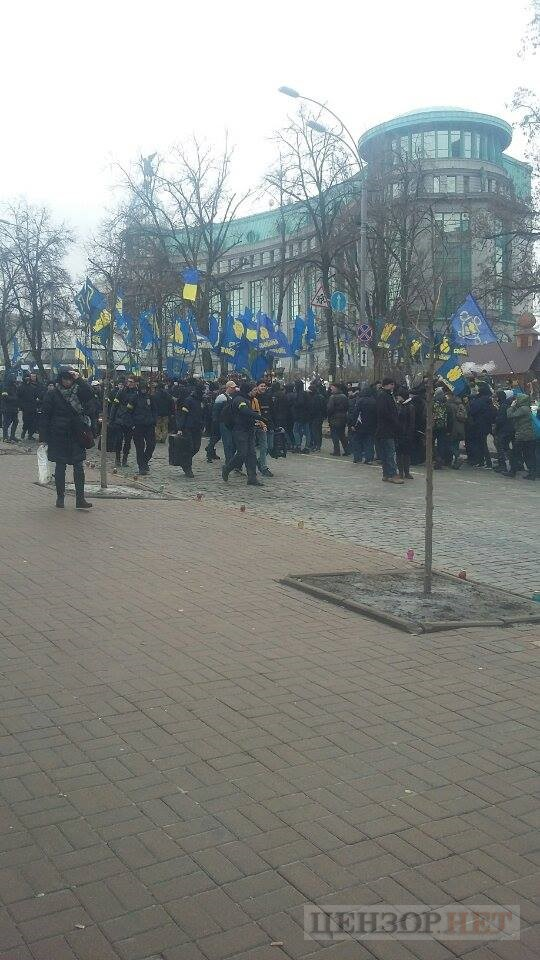 National Dignity March taking place in Kyiv downtown 05