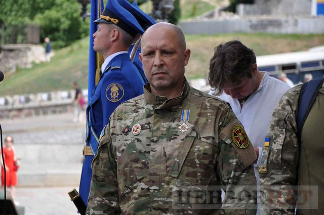 Family, friends, comrades said farewell to volunteer Volodymyr Samoilenko killed in Donbas 26