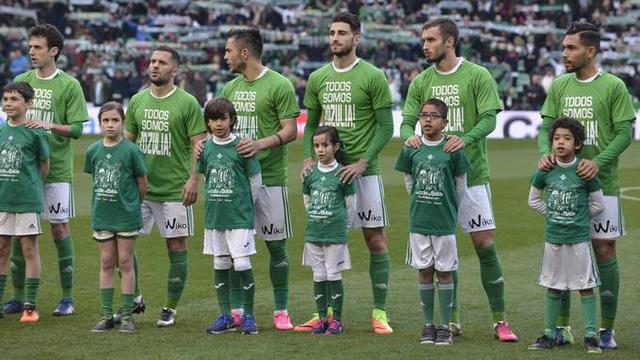 """We are all Zozulia,"" - Betis football players expressed solidarity with Ukrainian athlete 01"