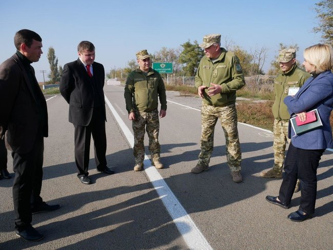 Construction of customs checkpoint Kalanchak between Kherson region and Crimea at the final stage 02