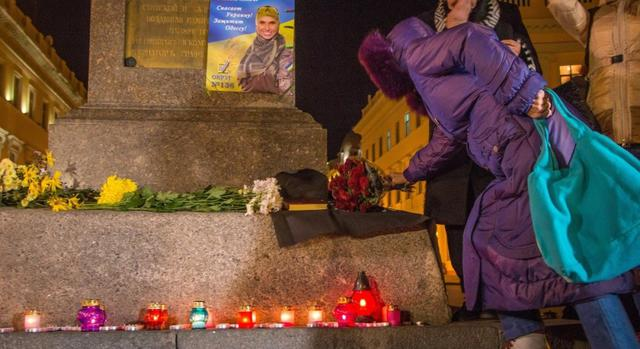 Odesa residents held rally to commemorate murdered Amina Okueva 05