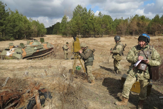 SPG live fire drills took place in Chernihiv region 01