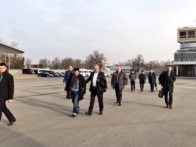 Luxembourg FM Asselborn visits Donbas 01
