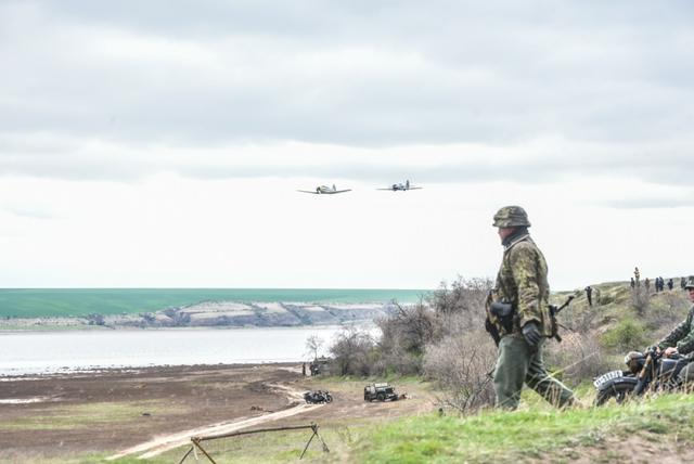 Historical reenactment of 1944 Odesa liberation battle took place in Ukraines southern region 02