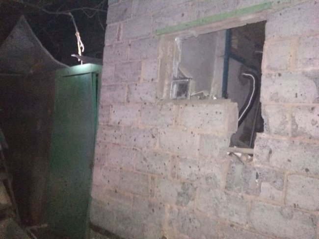 Eight civilians injured in massive missile strike on Novoluhanske village, extensive damage caused to residential neighborhood 03