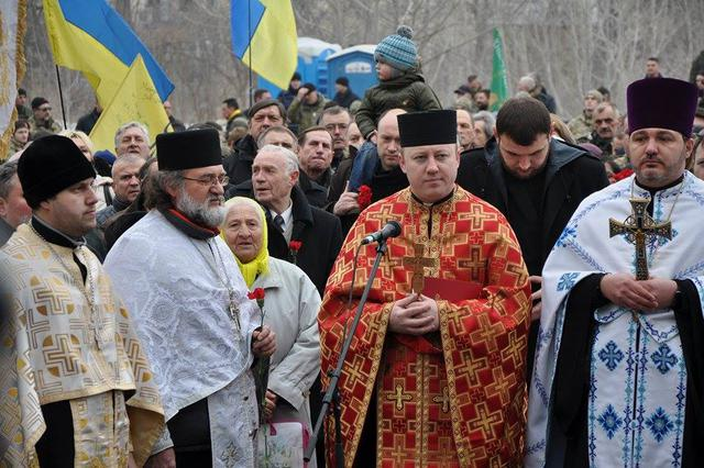 Memory of Heavenly Hundred Heroes honored in Kyiv 12