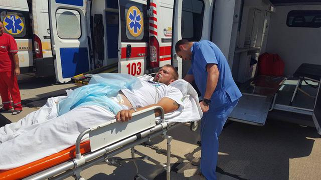14 wounded military brought to Odesa, four of them in grave condition 02