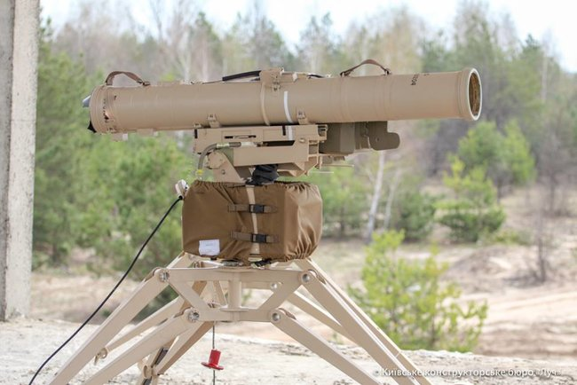 Developers test-fired advanced Skif ATGM modified for use on soft soils and sand 03