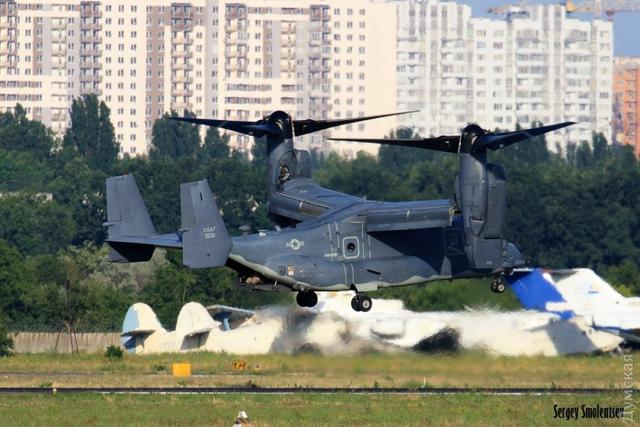Osprey tiltrotors of US Marines arrived in Ukraine for Sea Breeze 2017 03
