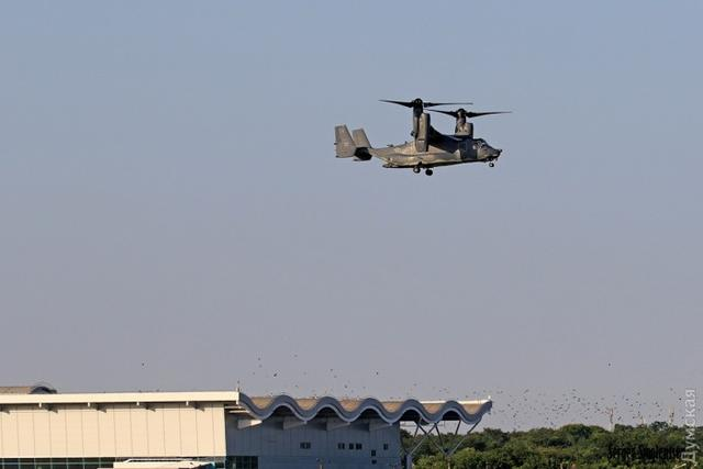 Osprey tiltrotors of US Marines arrived in Ukraine for Sea Breeze 2017 01