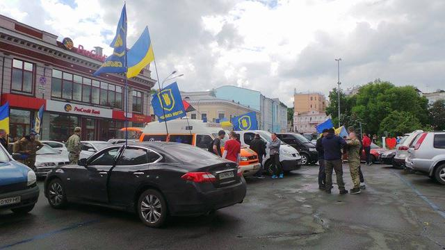 Poroshenko sign amnesty! car run started in Kyiv 14