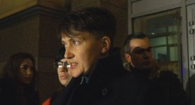 """Committee`s decision on my expulsion illegal"": Savchenko holds briefing after National Security Committee meeting"