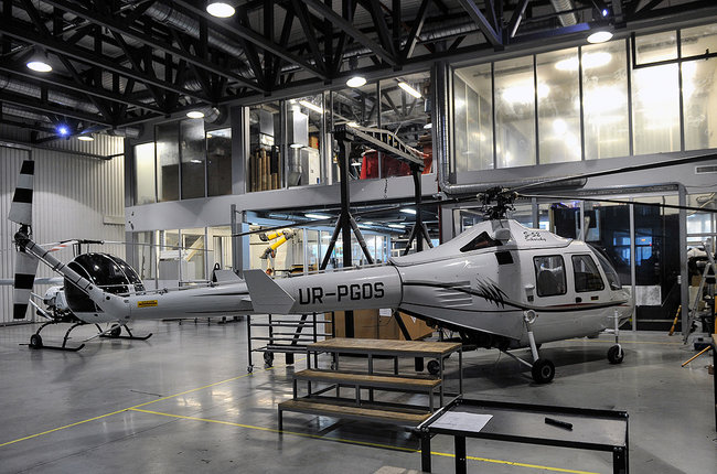 Domestic helicopters can help solve wide range of military and civilian tasks, NSDC chief says 01