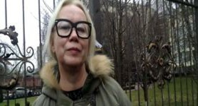Judge Volkova, who released main suspect of Maidan slaughter, brought before court. PHOTO
