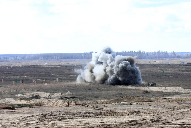 SPG live fire drills took place in Chernihiv region 03