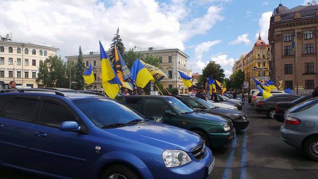 Poroshenko sign amnesty! car run started in Kyiv 11