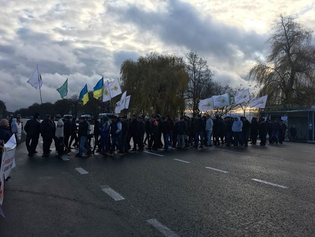 Farmers across Ukraine protesting against introduction of land reform 03