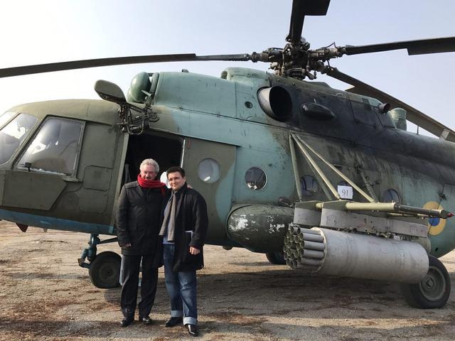 Luxembourg FM Asselborn visits Donbas 04