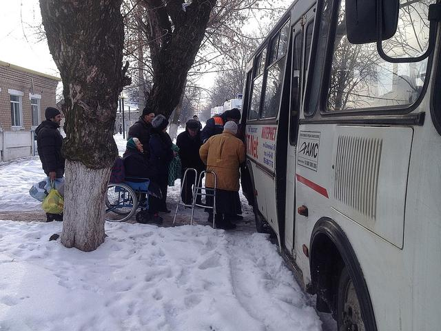 Rescuers evacuate 132 persons including 70 children from Avdiivka, - Sate Emergency Service 04