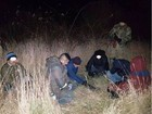 Six illegal migrants from Iraq, Syria, and India apprehended at Ukrainian-Hungarian border. PHOTO