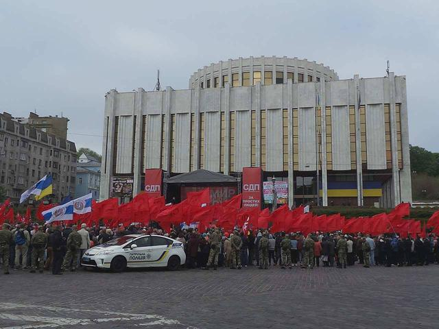Labor Day demonstrations peacefully held in Kyiv 22
