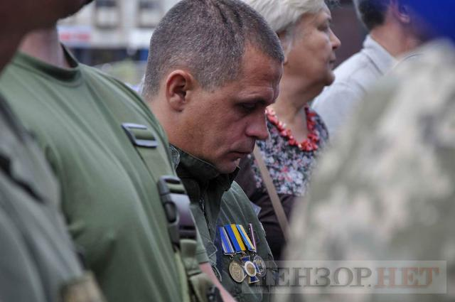 Family, friends, comrades said farewell to volunteer Volodymyr Samoilenko killed in Donbas 27