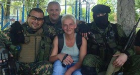 Infamous Inter TV channel chief editor took pictures with terrorists, - Advisor to Interior Minister demands that Stolyarova be banished. PHOTO
