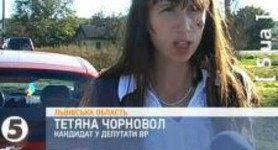 Journalist and Deputy Candidate Tetyana Chornovil Beat Up: I am Standing here Covered in Blood. VIDEO