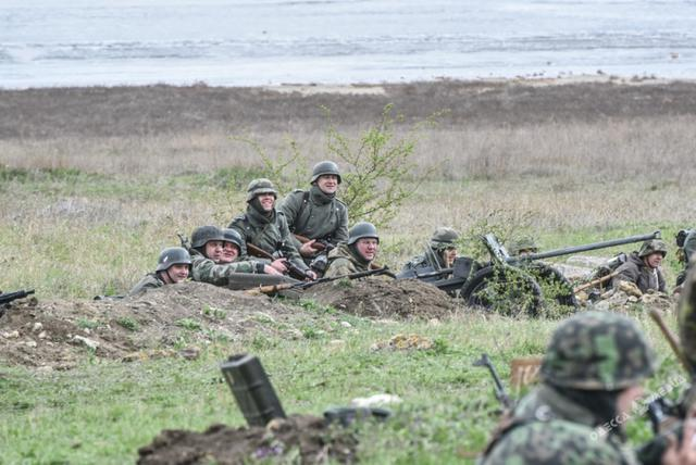 Historical reenactment of 1944 Odesa liberation battle took place in Ukraines southern region 05