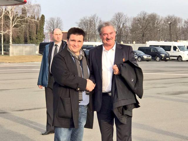 Luxembourg FM Asselborn visits Donbas 02