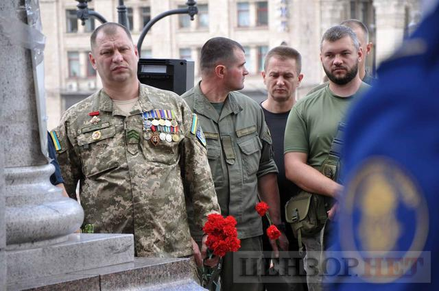 Family, friends, comrades said farewell to volunteer Volodymyr Samoilenko killed in Donbas 23
