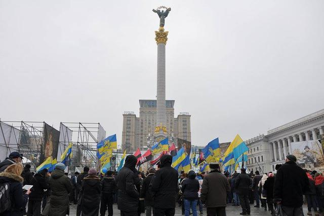 Memory of Heavenly Hundred Heroes honored in Kyiv 29