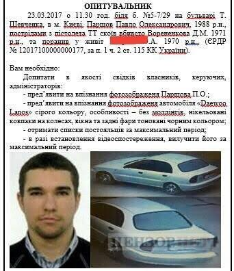 Voronenkov murder: New information on killers car revealed 01