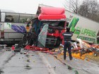 Bus and truck crashed in Volyn`: two drivers killed. PHOTOS + VIDEO