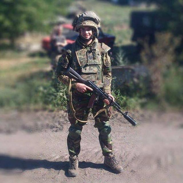 Ukrainian soldier Maksym Hrynchyshyn killed in action in Donbas, - chaplains 01