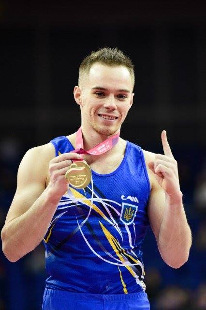 Ukrainian gymnast Verniaiev won World Cup 01