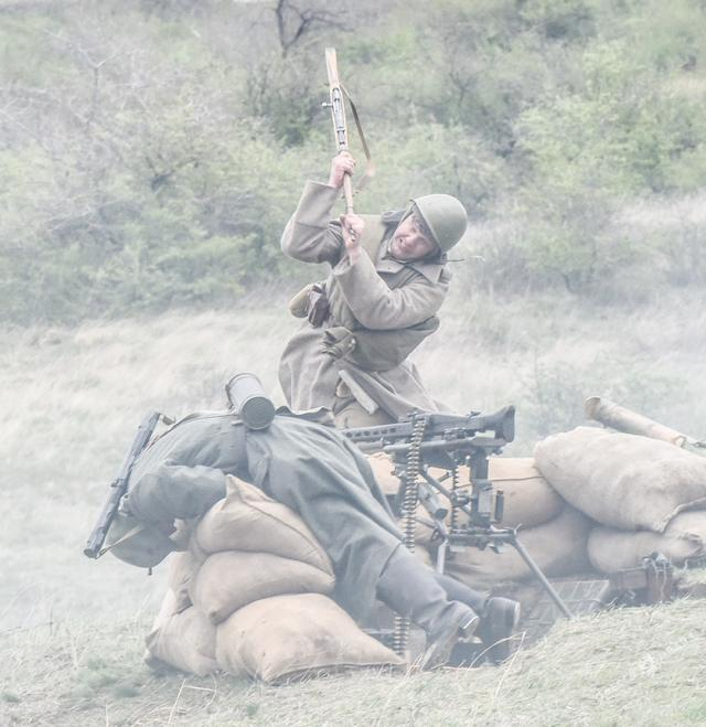 Historical reenactment of 1944 Odesa liberation battle took place in Ukraines southern region 07