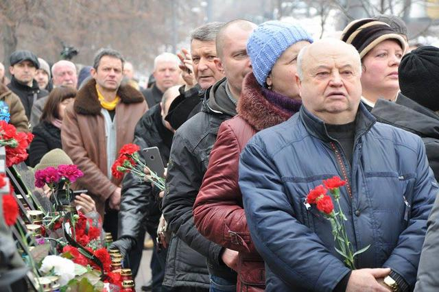 Memory of Heavenly Hundred Heroes honored in Kyiv 21