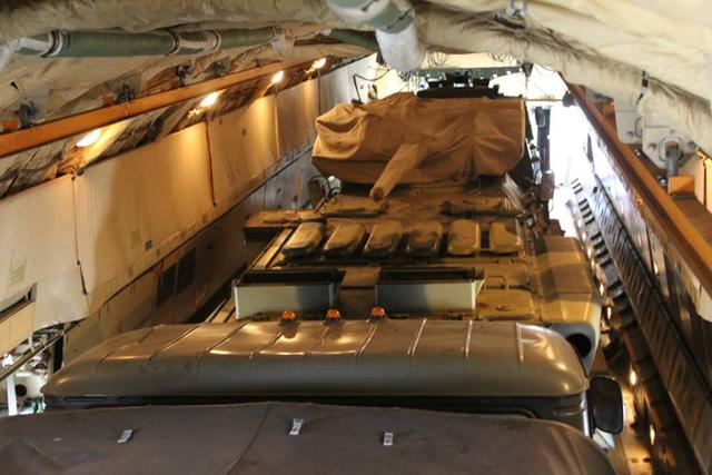 Airborne unit drills loading military hardware onboard IL-76 carrier in Zhytomyr region 05