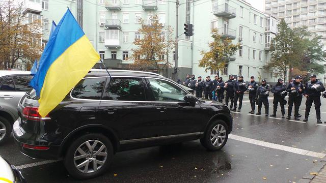 Protests near Rada building in Kyiv on Oct. 17 23